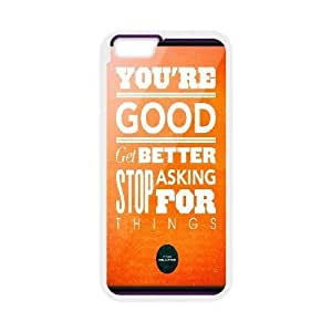 Cases for IPhone 6, Don Draper Quote Cases for IPhone 6, Psychedelic Anime White