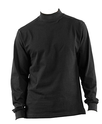42c3fcba52 DSCP US Military Thermal Mock Turtleneck Long Sleeve Jersey Shirt, 2XL,  Black from DSCP