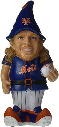 "MLB New York Mets Noah Syndergaard #34 Resin Player Gnome, 8"", Team Color"