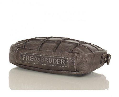 FREDsBRUDER RIC Waxed Square Quadratschädelchen Grey