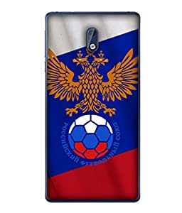 ColorKing Football Russia 30 Multicolor shell case cover for Nokia 3