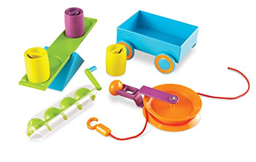 stem toys for preschoolers Learning Resources Stem Simple Machines Activity Set, 19 Pieces
