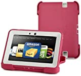 "Protective Childproof Outdoor Kindle Cover by Otterbox for Kindle Fire HD 7"", Pink/Papaya  [will only fit Kindle Fire HD 7"" (3rd Generation)]"