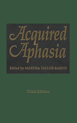 Acquired Aphasia Pdf