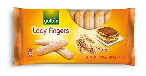 Gullon Lady Fingers Cookies Tiramisu Recipe 400g, 14.1 oz - Lady Fingers Recipe