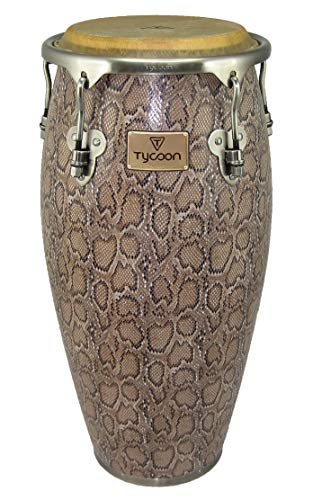 (Tycoon Percussion MTCF-110BCF5 11-Inch Master Series Conga with Single Stand, Boa Finish)