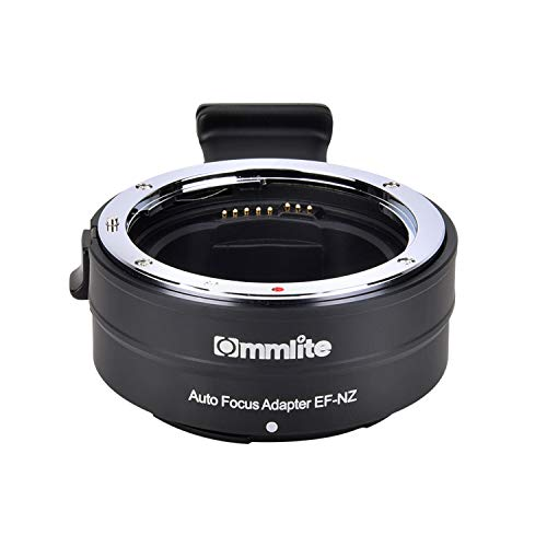 Commlite cm-EF-NZ Canon Sigma EF/EF-S to Nikon Z Mount Lens Adapter, Auto Focus Lens Mount Adapter for Nikon Z6 Z7