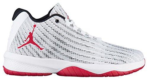 Nike - Jordan B.Fly White/Red - Sneakers Uomo Black