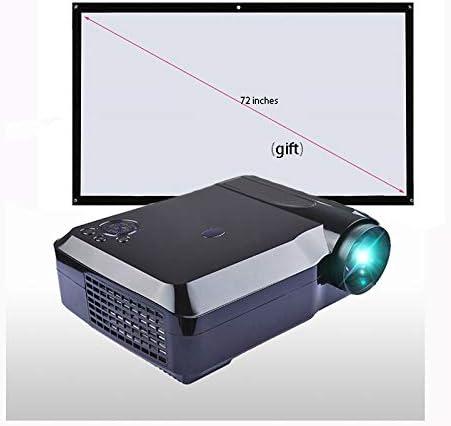 Link Co Pico proyector Full HD 1080p Altavoz Soporte HDMI VGA AV ...