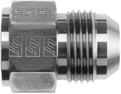 Pack of 15 Brennan 2406-06-04 Steel 3//8 in Female JIC 37/° Flare x 1//4 in Male JIC 37/° Flare Reducer