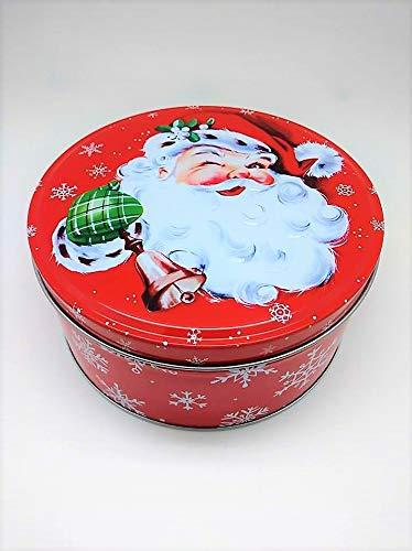 (Piddix Santa Cookie Nesting Tins, Set of 3)