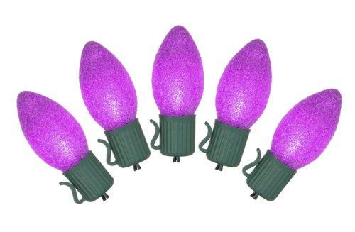 Purple C7 Led Christmas Lights - 4