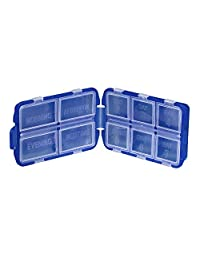 Lewis N Clark 721 Eight Day Pill Box, Blue, One Size