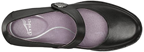 discount 100% guaranteed Dansko Women's Adelle Mary Jane Flat Black Nappa clearance browse sale wholesale price pay with visa LlT0J