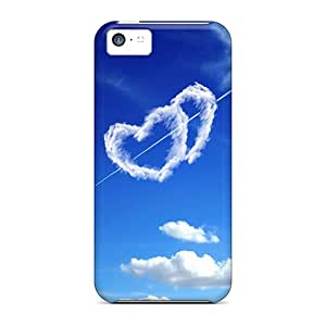 IYphLmx8386nFwuM Tpu Phone Case With Fashionable Look For Iphone 5c - Love Miracle