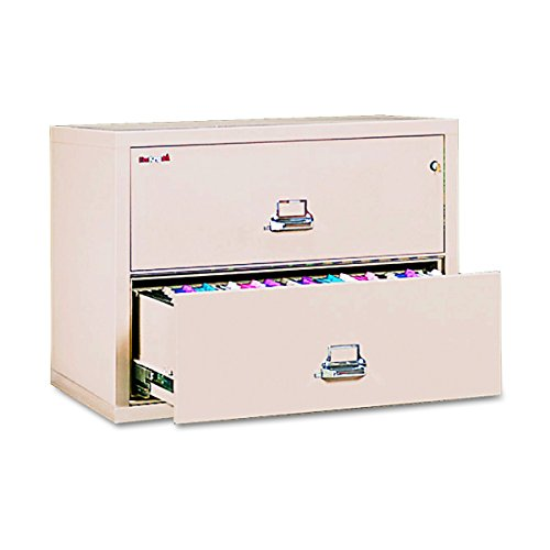 FireKing 23822CPA 37-1/2-Inch by 22-1/8-Inch Insulated 2-Drawer Lateral Letter/Legal File, (2 Drawer Insulated Vertical Office)