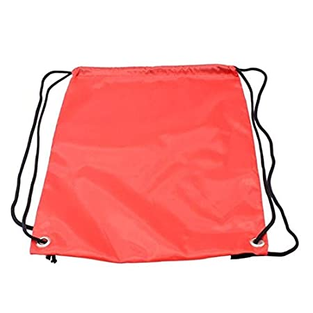 BEESCLOVER Waterproof Oxford Cloth Drawstring Backpack Outdoor Quick-Dry Travel Swimming Beach Bag Portable Shoulder Bag 430 x 325 x 10mm