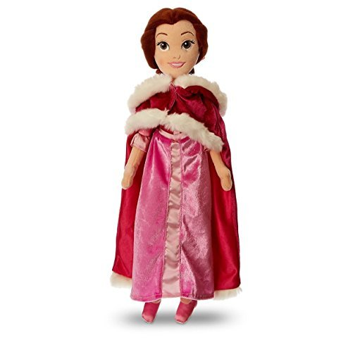 (Belle Plush Doll with Pink Cape - Beauty and the Beast - Medium - 19 1/2'')
