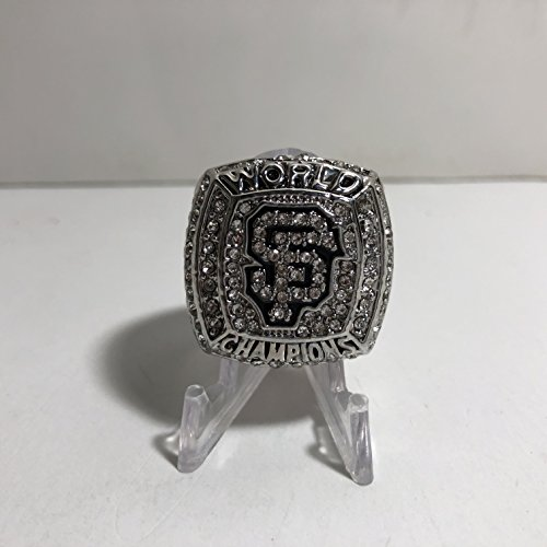 2012 Brandon Crawford San Francisco Giants High Quality Replica 2012 World Series Championship Ring Size 11-Silver Color US SHIPPING