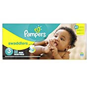 Pampers Swaddlers Diapers Size 3, 88 Count