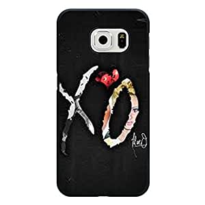 Hot The Weeknd XO Phone Case Cover For Samsung Galaxy s6 Edge The Weeknd XO Luxury Pattern