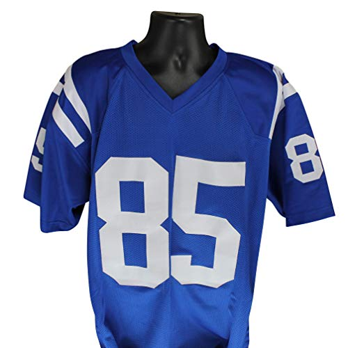 Jersey Colts Blue Indianapolis Custom - Eric Ebron Autographed Indianapolis Colts Blue Custom Jersey w/Beckett COA