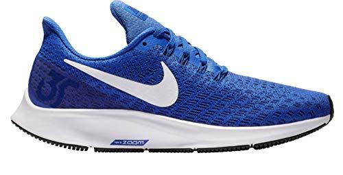 NIKE Women's Air Zoom Pegasus 35 Running Shoes (7.5, Game Royal/White-Deep Royal Blue-Black)