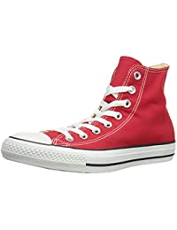 560ff73fa1c9 Mens All Star Hi Top Chuck Taylor Chucks Sneaker Trainer - Red - 7 ·  Converse