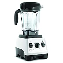 Vitamix 7500 Blender with Low Profile Jar Black (White)