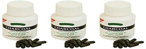 - Braggs - Charcoal Caps | 100's | BUNDLE by Bragg's
