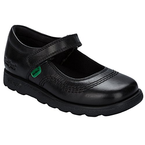 Kickers Girl's Fragma Pop Shoe 7 Infant Black - Kickers Childrens Shoes