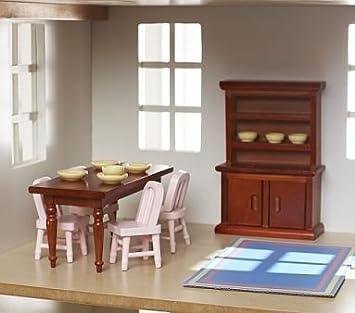 Amazon Com Pottery Barn Kids Dollhouse Dining Room Set