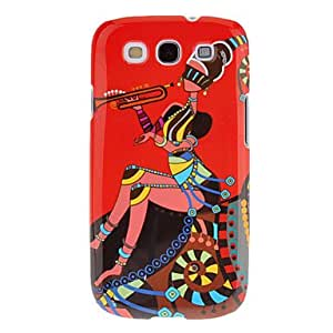 xiao Piping Lady Pattern Protective Hard Back Cover Case for Samsung Galaxy S3 I9300