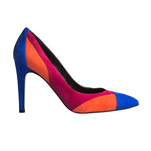 THE PINK HEEL - Stiletto Ante Tricolor - Tricolor, 40