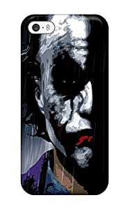 Cute Tpu Phone Case Joker 5919 Case Cover For Iphone 5/5s