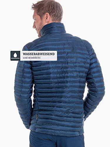 Schöffel Thermo Jacket Val d Isere3, gesteppte Thermojacke mit hochschließendem Kragen, wärmende und atmungsaktive Skijacke Herren, navy peony, 48 3
