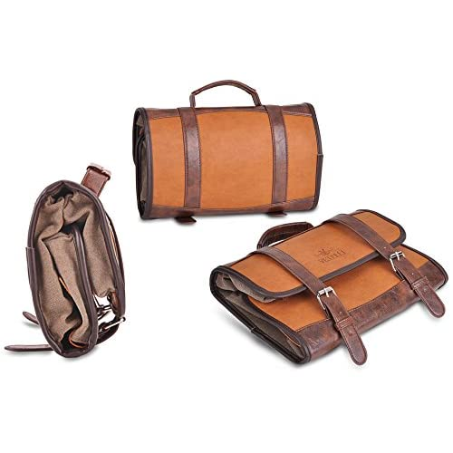 2f341faed6 Vetelli Hanging Toiletry Bag for Men - Dopp Kit   Travel Accessories Bag    Great Gift