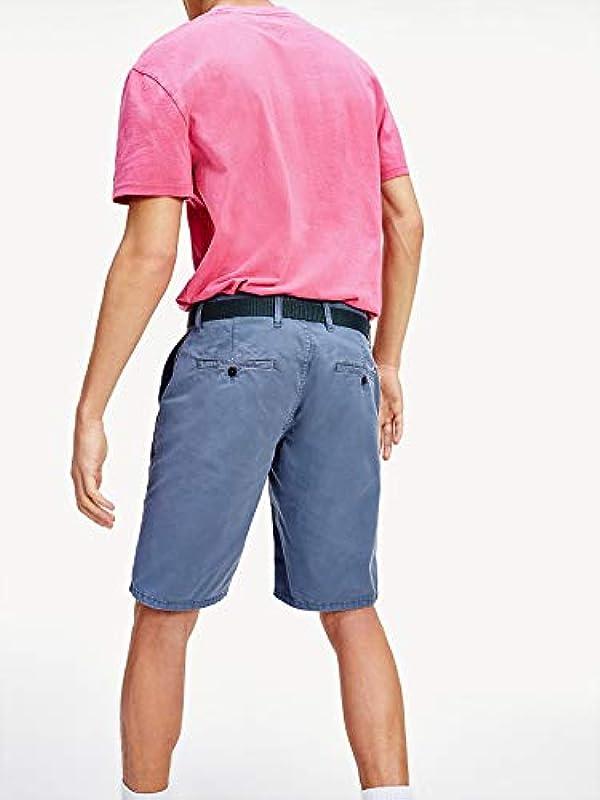 Tommy Jeans Męskie jeansy Tjm Vintage Wash Short Straight: Odzież