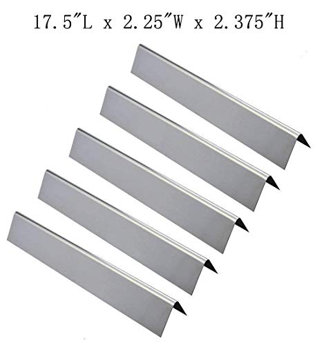 - GasSaf Flavorizer Bar 304 Stainless Steel Replacement for Weber Genesis 300,E310,S310,E330,EP310,EP320,EP330,S310,S330 Series Grill(5 Packs)