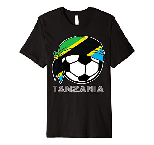 Tanzania Soccer Fans Kit 2019 African Football Supporters Premium T-Shirt