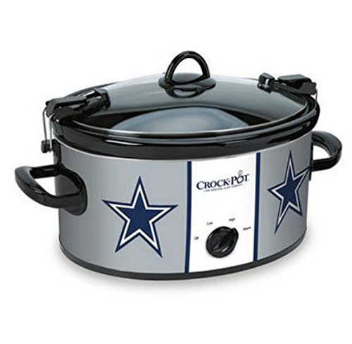 Official NFL Crock-pot Cook & Carry 6 Quart Slow Cooker - Dallas Cowboys