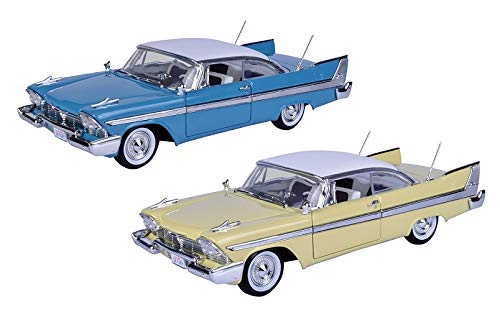 - Motormax 1:18 1958 Plymouth Fury Toy