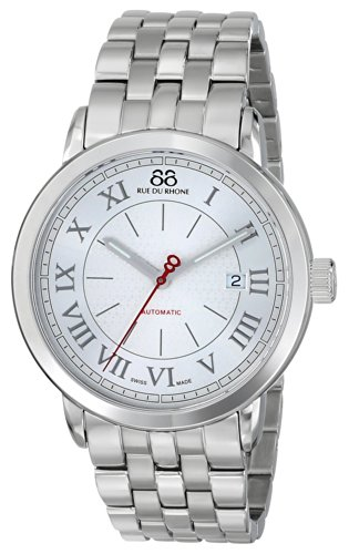 88-Rue-du-Rhone-Mens-87WA120054-Analog-Display-Swiss-Automatic-Silver-Watch
