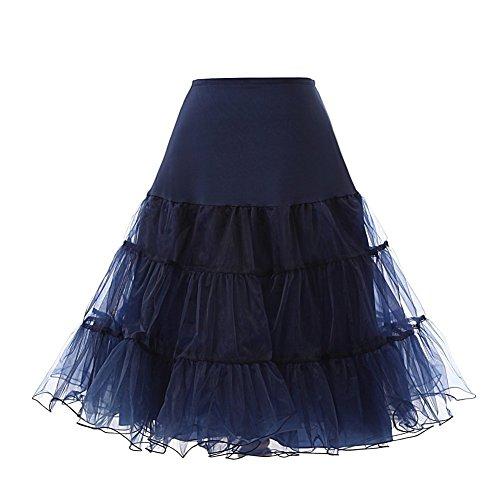 CoutureBridal - Enaguas cortas - para mujer Blau Marine