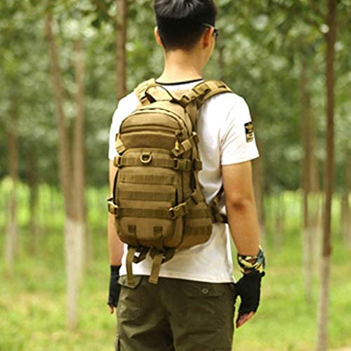 XJRHB Outdoor Tactical Backpack Mountaineering Bag Sports Shoulder Bag Travel Bag Men and Women Water Bag Bag Mountaineering Camouflage Bag Multifunction