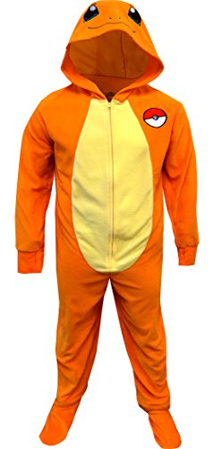 Pokemon Charmander One Piece Union Suit Pajama For Men - Piece Men One For Suits