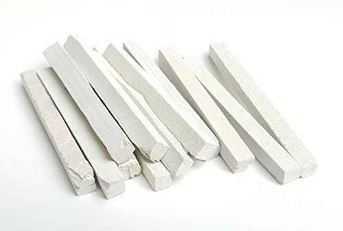 Slate Pencils 2.5 Kilograms 2500 Grams White Color Natural Found Stone THIN 4 to 5 mm Thickness