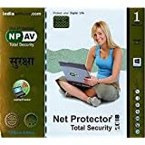 TrackInfinity Net Protector Total Security 2018-1 PC, 1 Year (CD)
