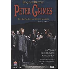 Britten - Peter Grimes / Davis, Vickers, Harper, Bailey, Royal Opera Covent Garden