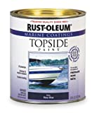 Topside Paint, Navy Blue, Alkyd